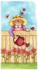 Adoro regar minhas flores...