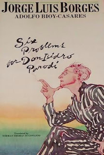 Six Problems for Don Isidro Parodi, copertina