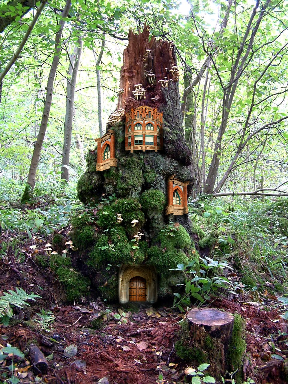 Tim Waters 39 Artshop Fairy Castle