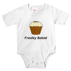 Freshly Baked Cupcake Infant Bodysuit
