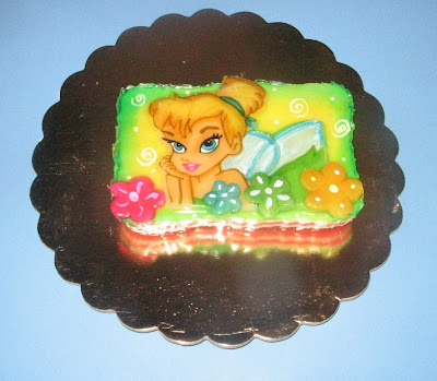 De Campanita Torta De Campanita Tortas Decoradas Tortas Decoradas En