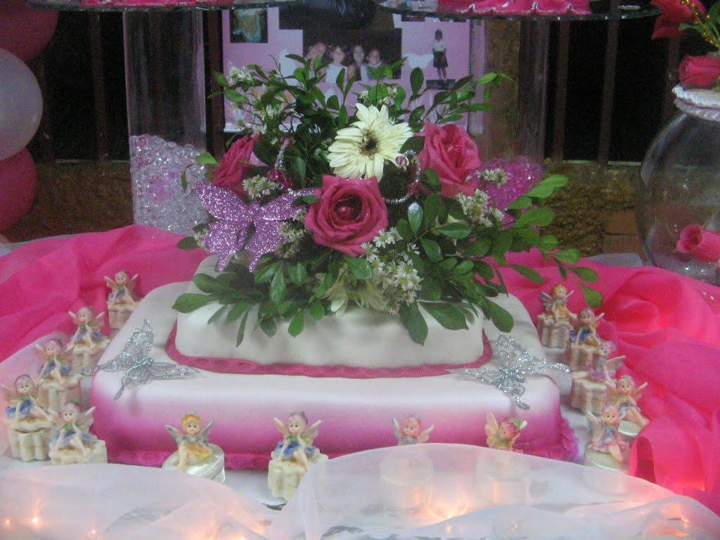 May y sus creaciones torta de 15 a os hadas y mariposas for Ornamentacion para 15