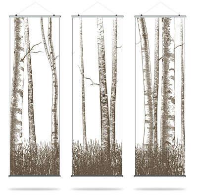 Double Take: Inhabit and IKEA Tree Panels on
