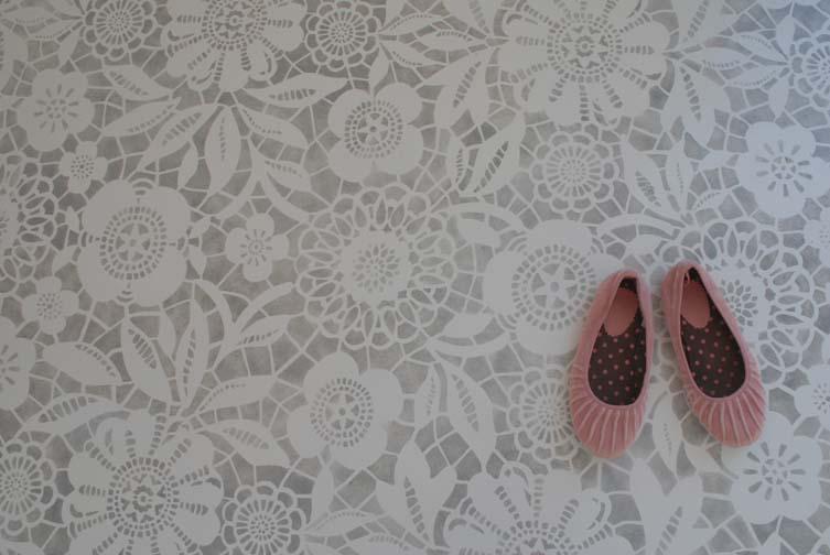 Decorative Concrete Patterns And Stencils Supplies Workshops