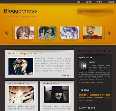 Bloggerpress template