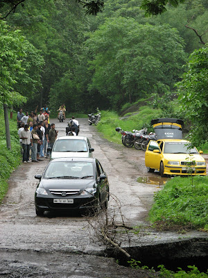Crowded National park at Borivali