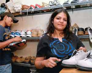 Vinnie Chadha owner of Reboot shoe laundry
