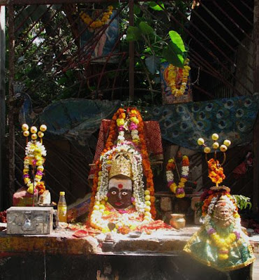 Idol of Hindu goddess