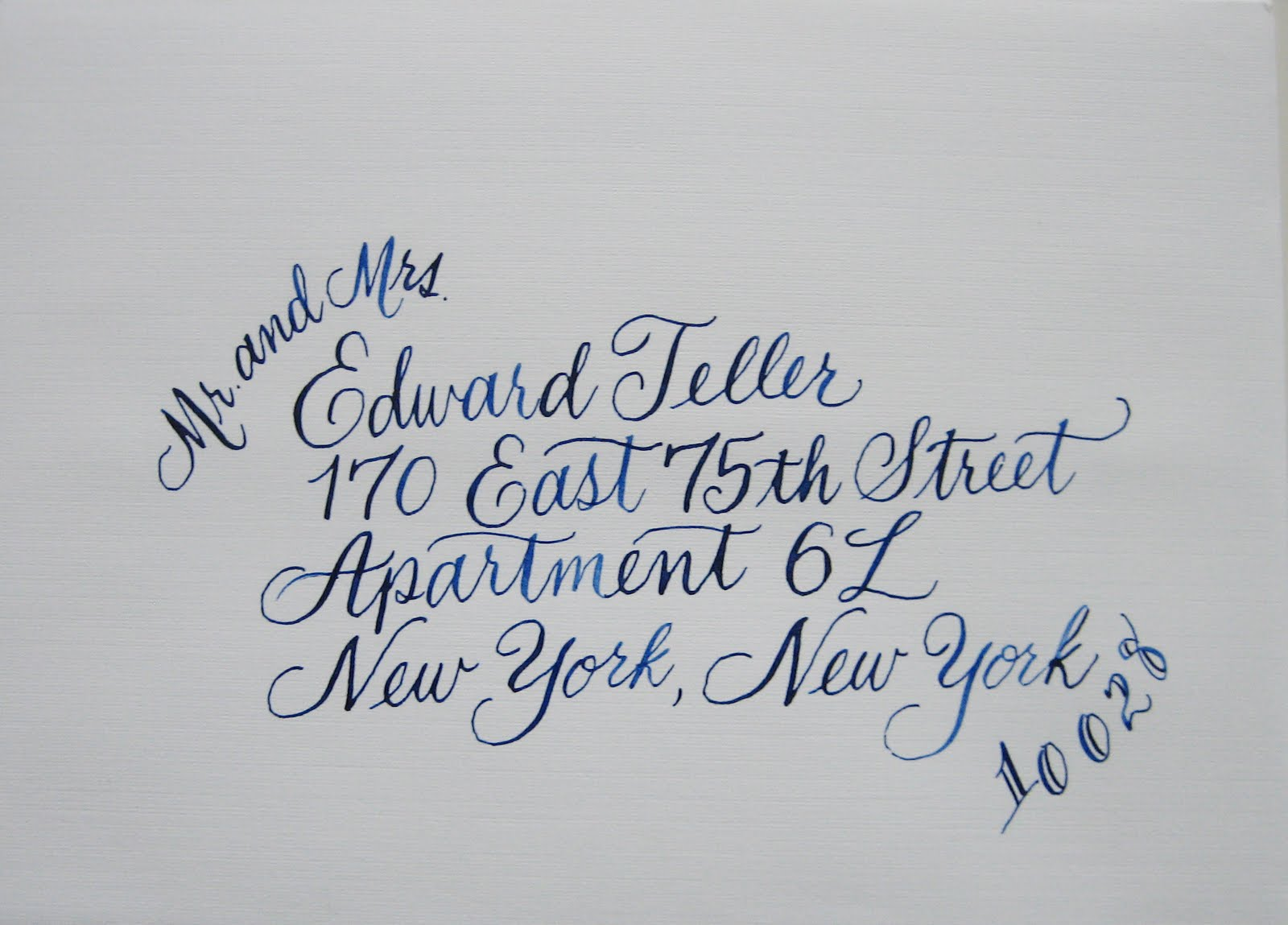 Navy Bean New Calligraphy Styles