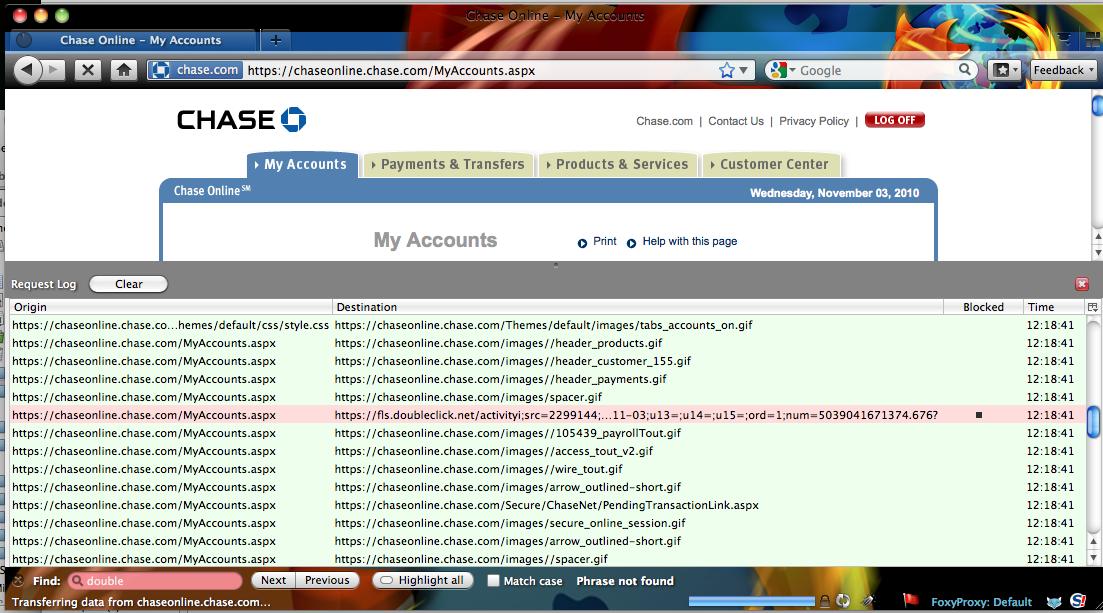 chase login online