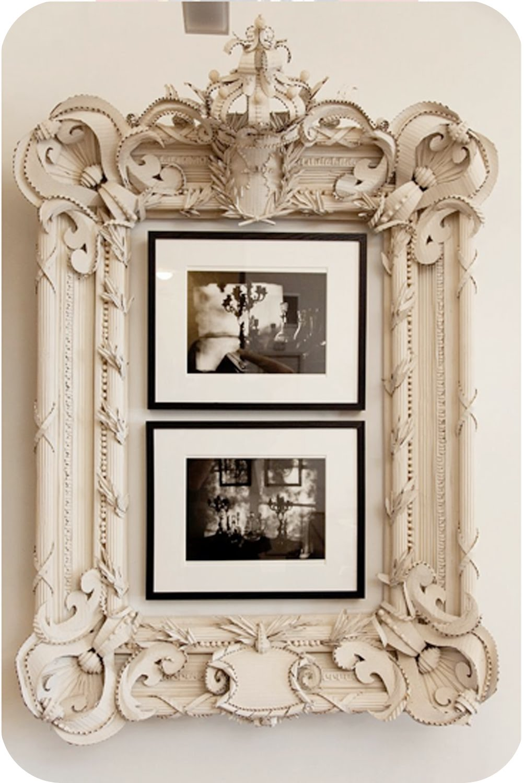 lemmemakeit: cardboard frame
