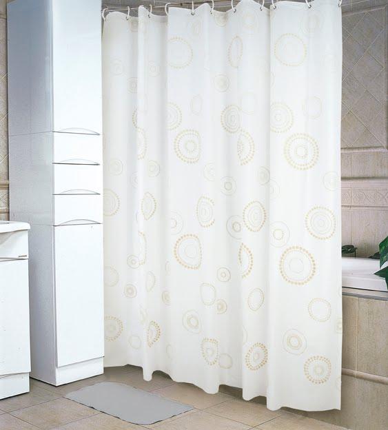 Cortina Baño Infantil: Jean Cartier: 0455 / 56 – Cortinas de Baño Opaca Blancas Estampada