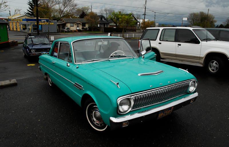 Old Parked Cars Ford Falcon Futura Door Sedan