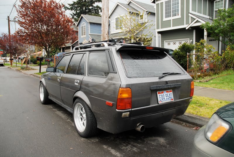 OLD PARKED CARS One Of A Kind 1982 Toyota Corolla Wagon