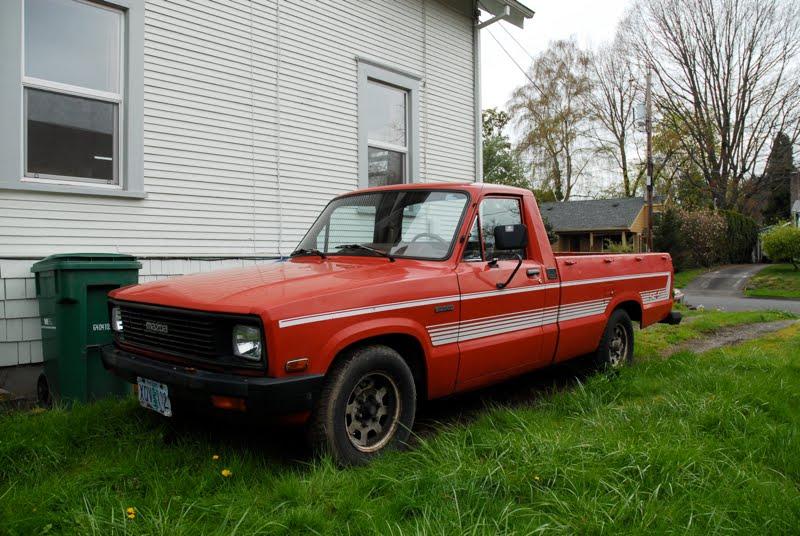 Pickup Truck Clipart. 1984 Mazda B2000 SE-5 Pickup.