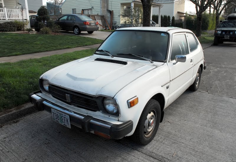 Old parked cars 1978 honda civic for 1978 honda civic