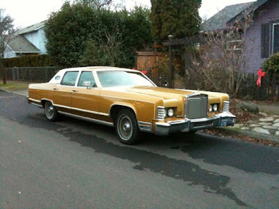old parked cars 1978 lincoln continental town car mark iii. Black Bedroom Furniture Sets. Home Design Ideas