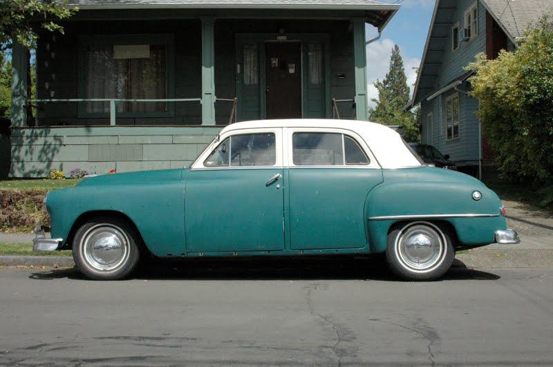 Old parked cars 1951 plymouth cranbrook sedan 4 door for 1950 plymouth 2 door sedan