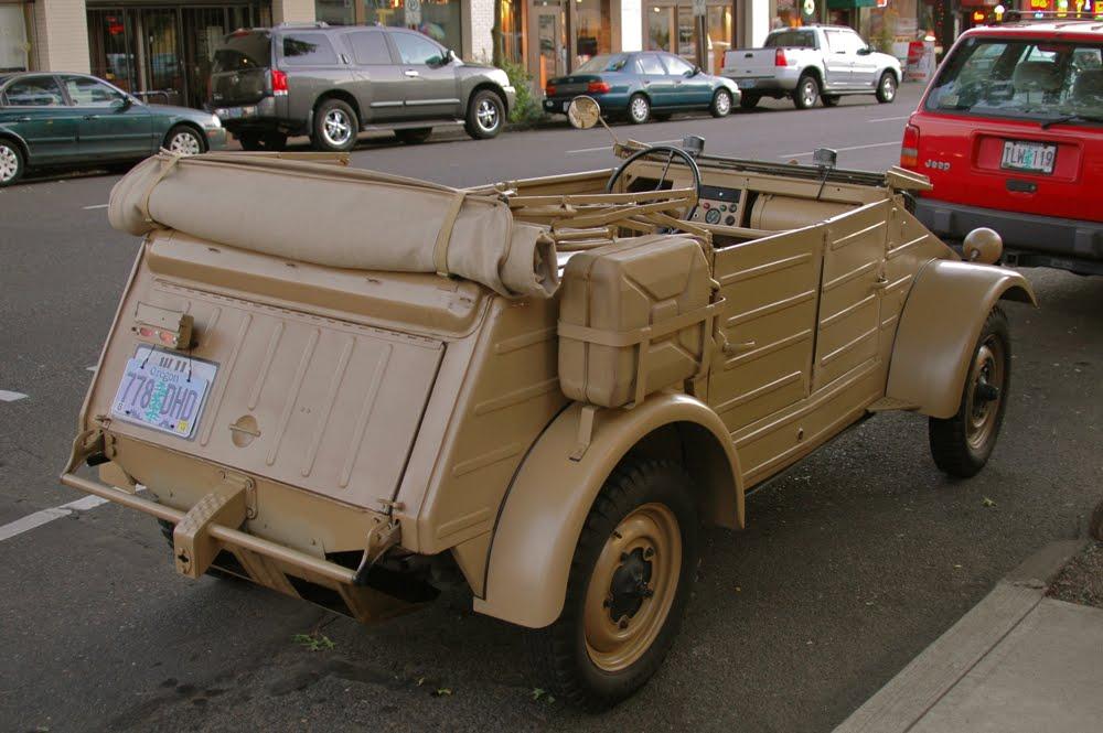 old parked cars 1943 volkswagen k belwagen type 82. Black Bedroom Furniture Sets. Home Design Ideas