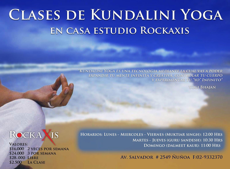 Yoga en casa estudio rockaxis clases de kundalini yoga en rockaxis - Clases de yoga en casa ...