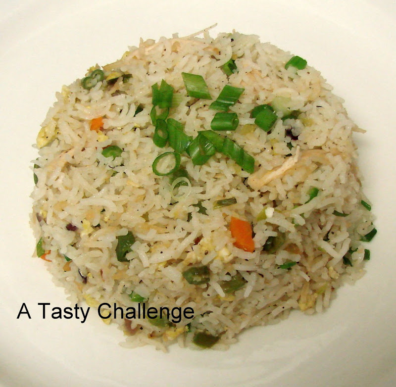 Indian Style Chicken Fried Rice