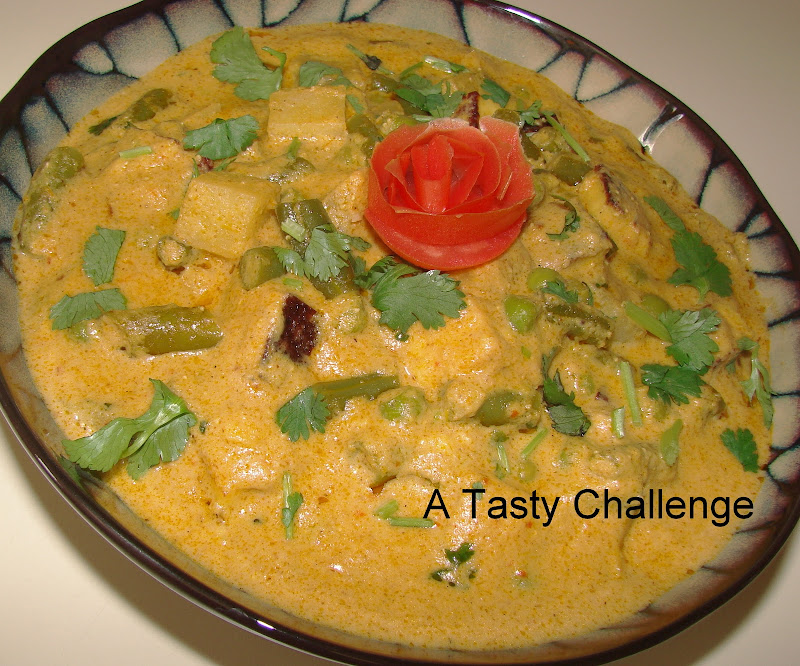Vegetable Paneer Medley