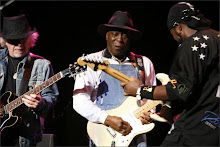 Brad Whitfield of Aerosmith with Buddy Guy