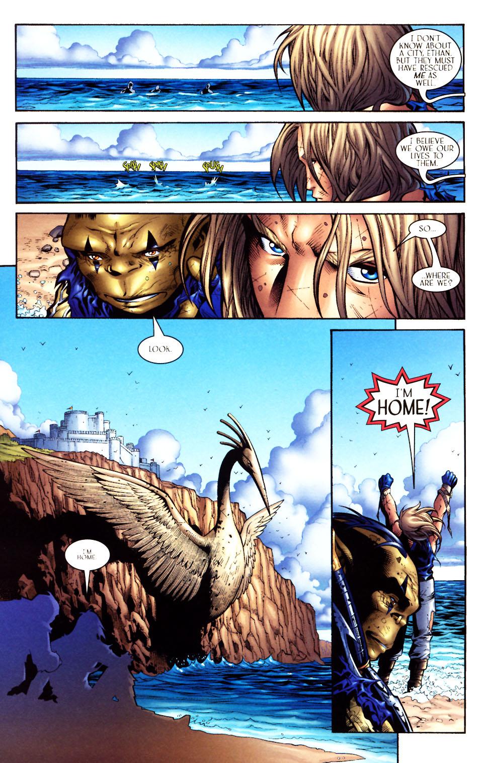 Read online Scion comic -  Issue #5 - 16