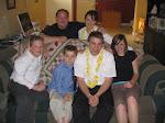 Collin's family