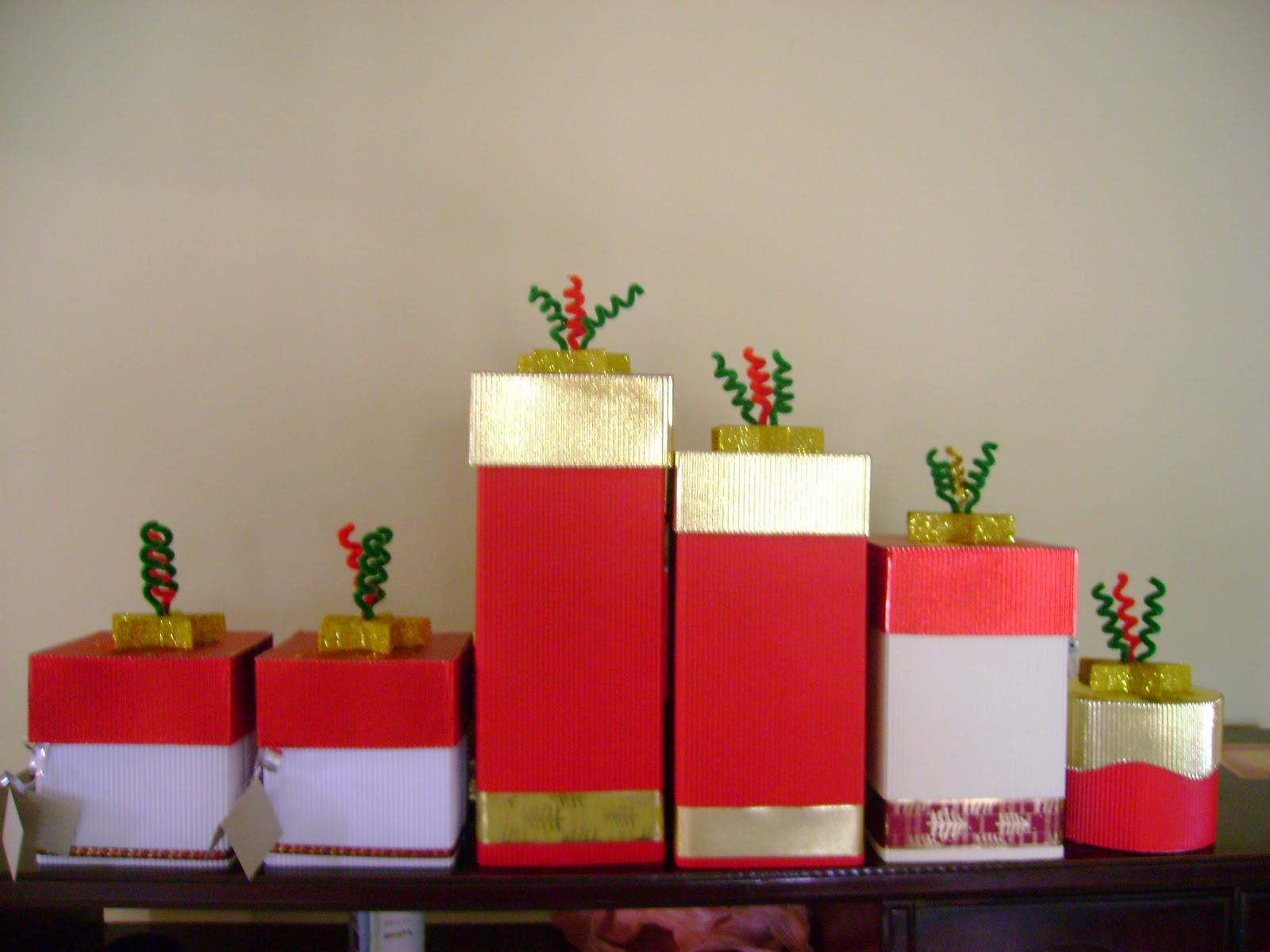 Decoraciones gummy cajas de regalo navidad 2010 - Cajas de decoracion ...