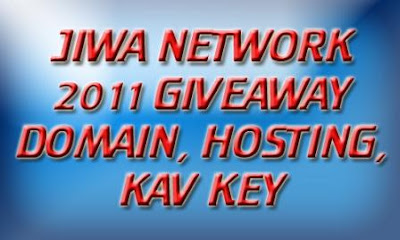 Domain, Hosting &amp; KAV Key I Jiwa Network Giveaway