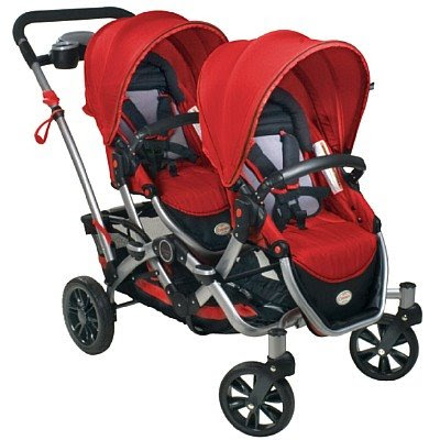 bolt from the blu kolcraft contours tandem double stroller double stroller that goes single meet the mountain buggy duet win it now 599 value 400x400