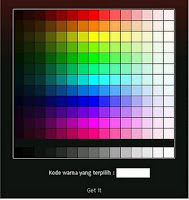 kode warna pada blog gratis