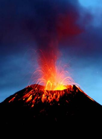 Volcanes y calentamiento global