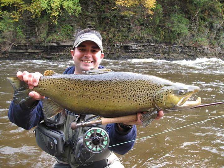 Fly fish addiction monster oregon steelhead fall lake for Salmon river ny fishing map
