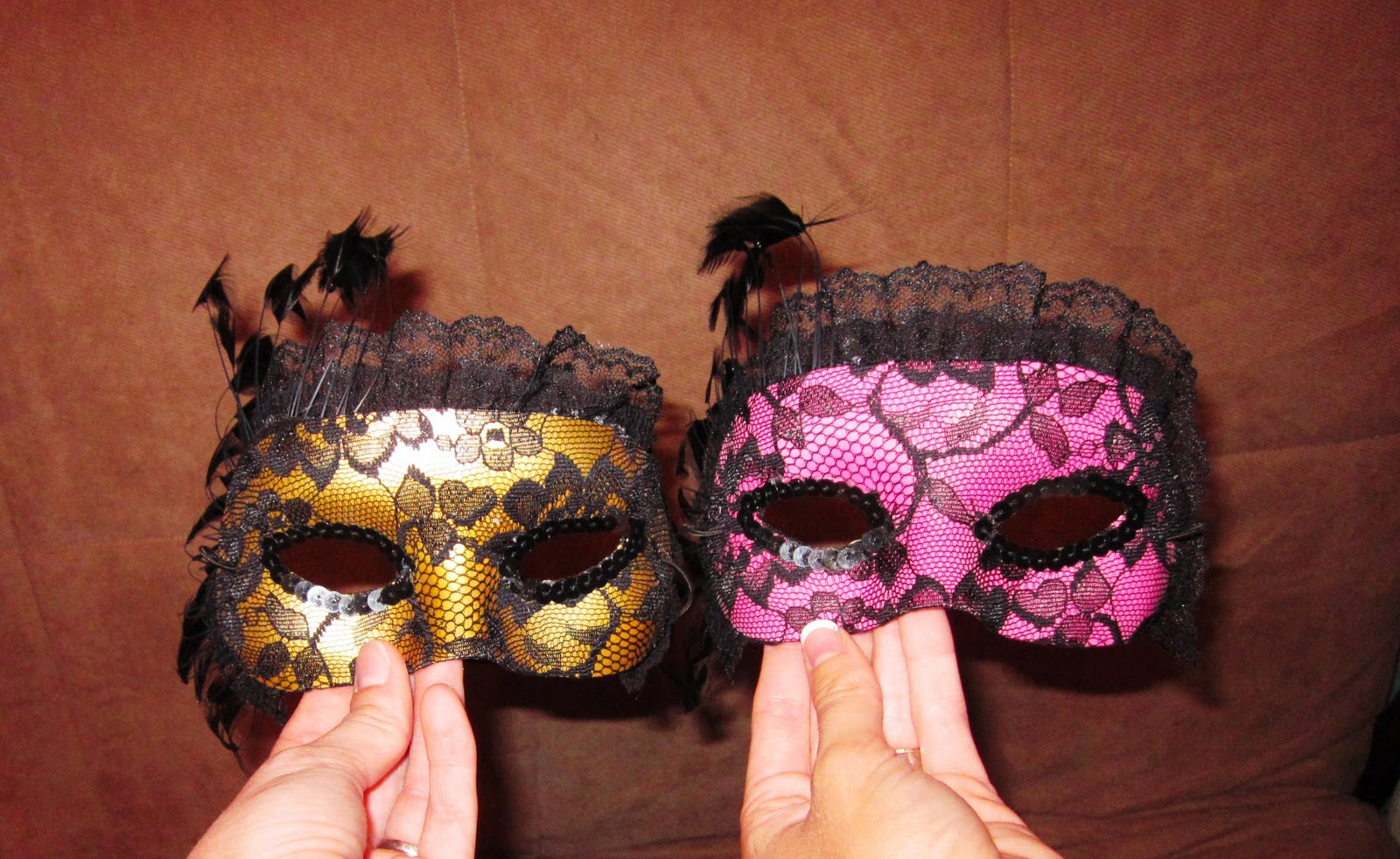 Anngela s pretty little things lace masquerade mask tutorial