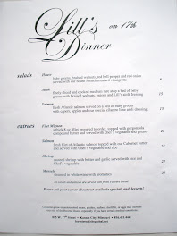Dinner Menu