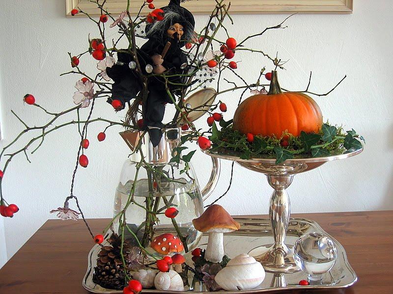Bluemli-Garten ♥♥: Herbstdekoration zu Halloween