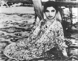 Baby Noor Jehan in Pind di Kuri, 1935