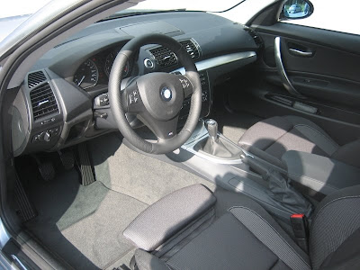 2008 bmw 118i interior Cloth with silver inlays