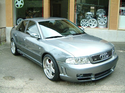 audi a4 b5 with aero body kit