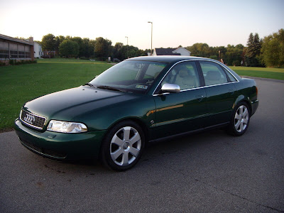 audi: green audi a4 b5 pictures