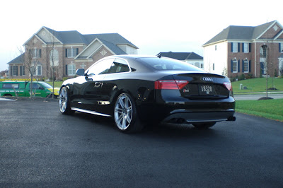 Audi 2008 S5 With Rs4 20 Inch Rims