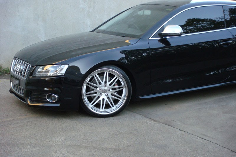 Audi 2008 Audi S5 With 20 Quot Forged Dpe 3 Piece Wheels