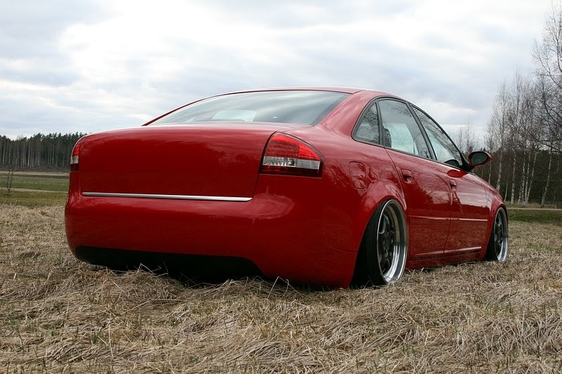 Audi Red Audi A6 C5 With Mods