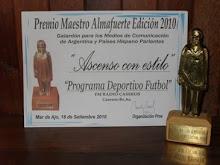 Premio Maestro Almafuerte 2010 y 2012