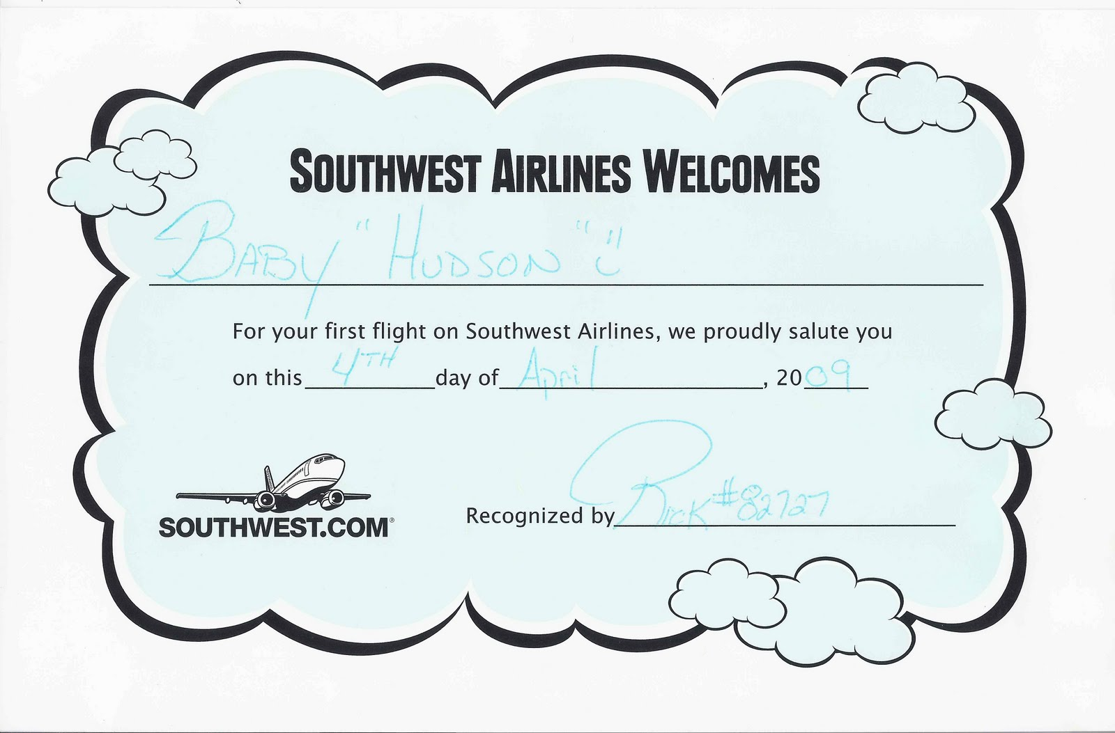 first flight certificate template one good thing first flight