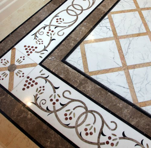 Marble Tiles Inlay : Craft central april