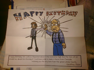 Birthdaycard William J Lashua