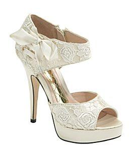Wedding Planning Fun Dramatic Wedding Shoes